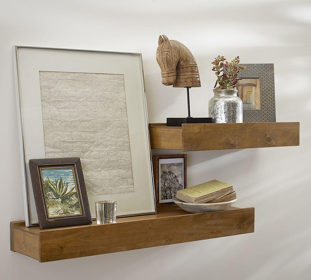 Vintage Wood Shelf One Object Shelf Wall Candle Holder Small Wood Shelf Vintage Wood Shelf