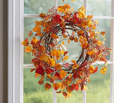 Bittersweet Wreath Garland Pottery Barn
