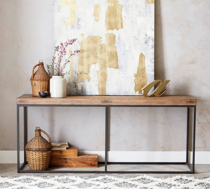 Malcolm 71 Console Table Pottery Barn
