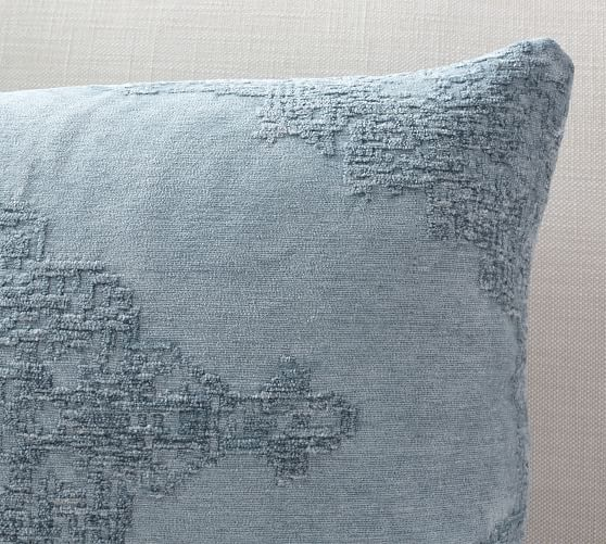 Maddie Textured Lumbar Pillow Covers Pottery Barn