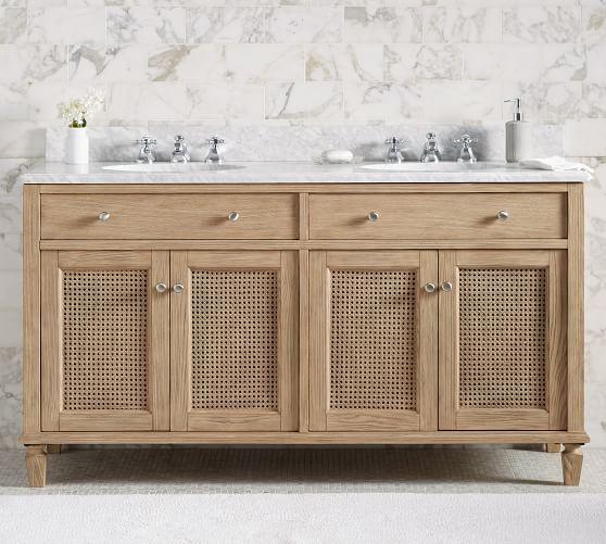 Sausalito 60 Double Sink Bath Vanity Pottery Barn