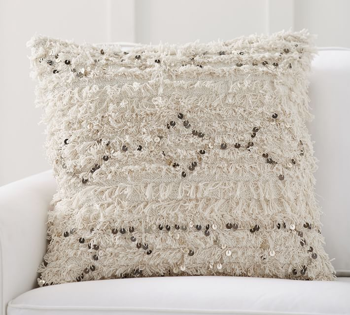 Moroccan Wedding Blanket Decorative Pillow Cover Pottery Barn
