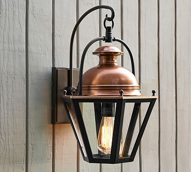 Case Indoor Outdoor Sconce Pottery Barn