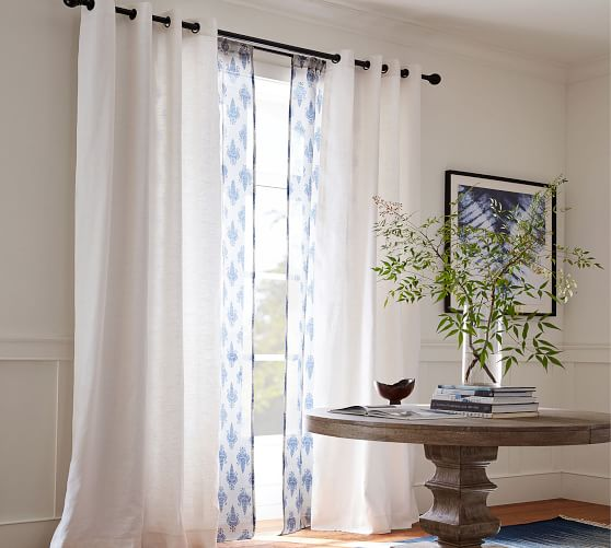 Vintage Map Window Curtain 50/% Blackout Curtains Drapes Living Room Home Decor