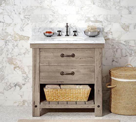 Benchwright 36 Single Sink Vanity Pottery Barn