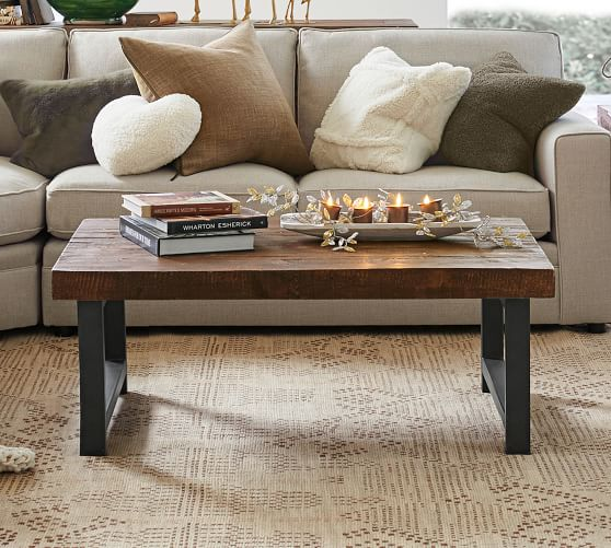 Griffin Reclaimed Wood Coffee Table Pottery Barn