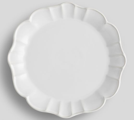 Monique Lhuillier Juliana Scalloped Dinner Plate
