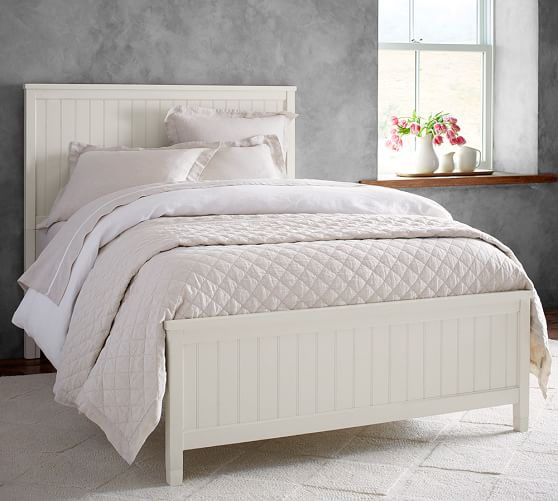 Beadboard Bed Wooden Beds Pottery Barn