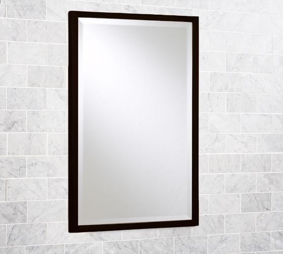 Kensington Recessed Medicine Cabinet, Recessed Bathroom Medicine Cabinets No Mirror