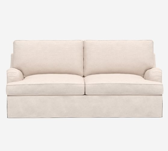 Pb English Arm Slipcovered Sleeper Sofa, Pottery Barn Sleeper Sofas