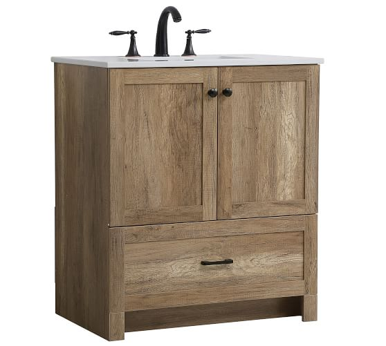 Alderson 30 Single Sink Vanity, 30 Wide Bathroom Vanity