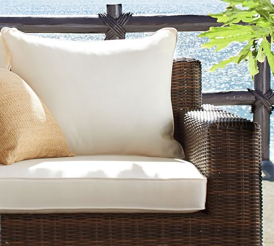 Torrey Square Arm Sunbrella Outdoor, Slipcovers For Outdoor Chair Cushions