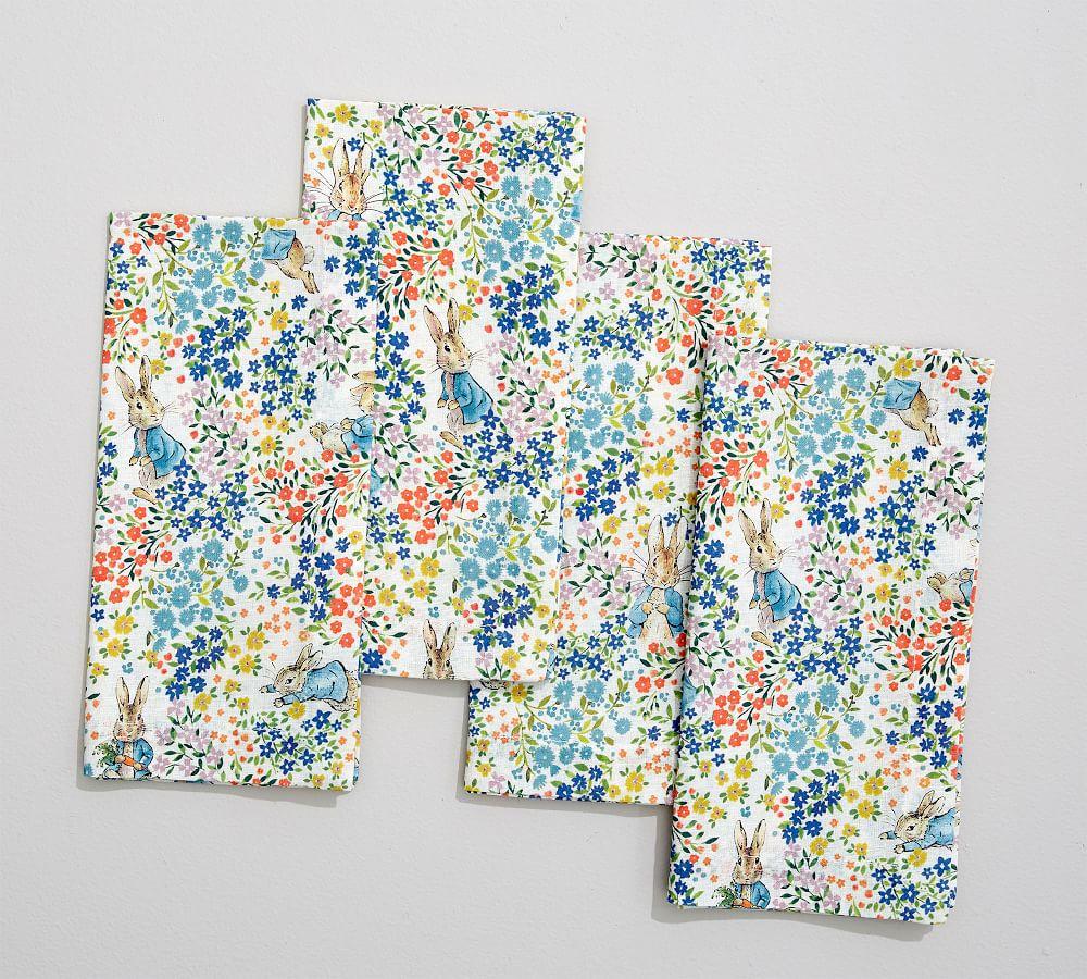 Linen Floral Napkins
