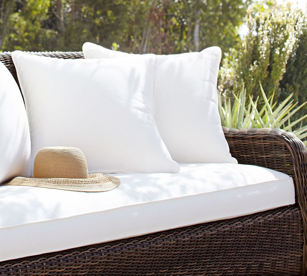 Outdoor Furniture Cushion Slipcovers, Wicker Chair Cushion Slipcovers
