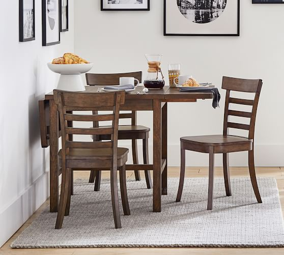 Mateo Drop Leaf Dining Table Pottery Barn, Drop Leaf Dining Room Table