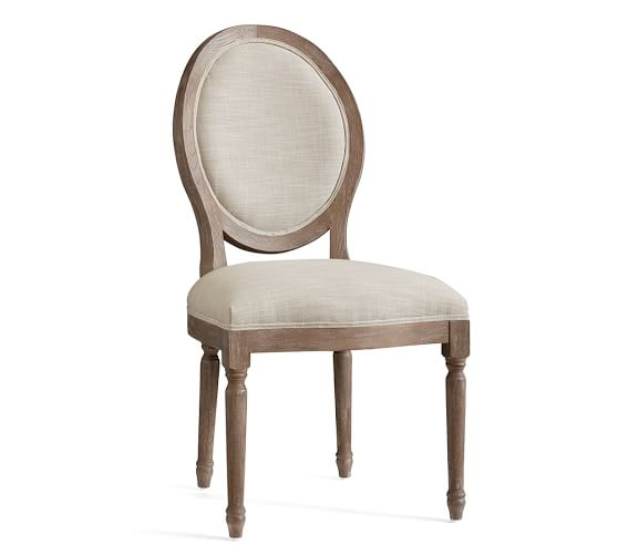 Louis Desk Chair Pottery Barn, King Louis Dining Room Chairs