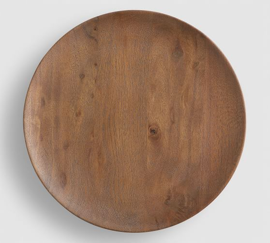 Chateau Handcrafted Acacia Wood Charger Plate