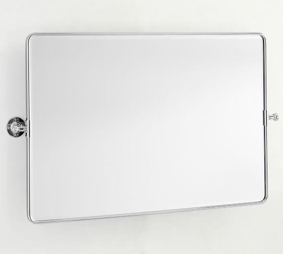 Vintage Pivot Double Wide Bathroom, Double Wide Bathroom Mirror