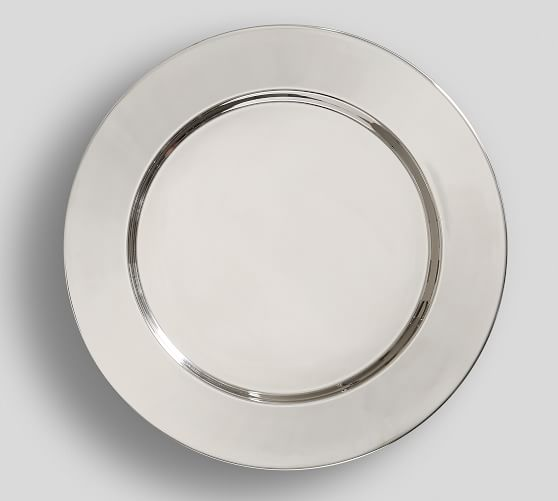 Harrison Stainless Steel Charger Plates