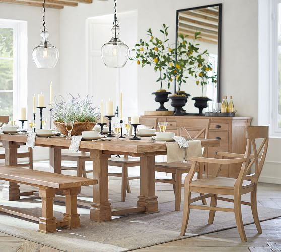 Aaron Dining Armchair Pottery Barn, Aarons Dining Room Sets