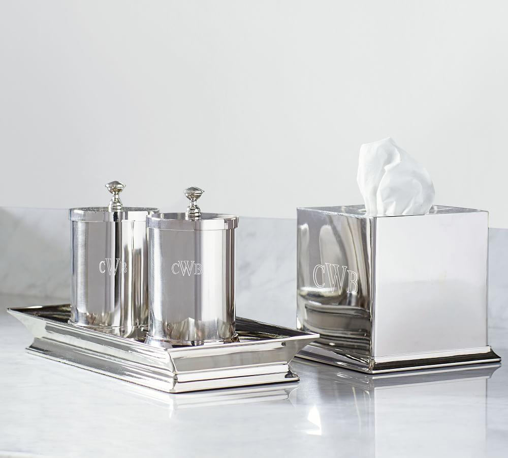 Mercer Polished Nickel Bathroom, Polished Nickel Bathroom Accessories