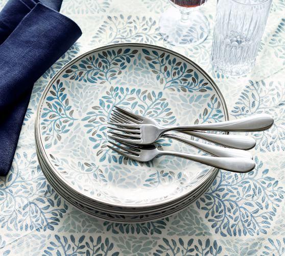 Hanukkah Star Stoneware Salad Plates - Set of 4