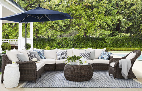 Outdoor & Patio Furniture Collections  Pottery Barn