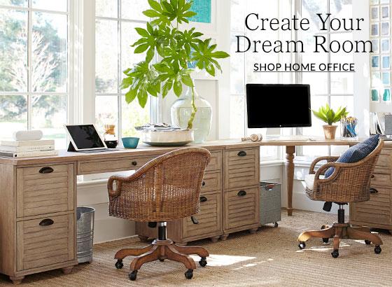 Home Office Design Ideas Inspiration Pottery Barn