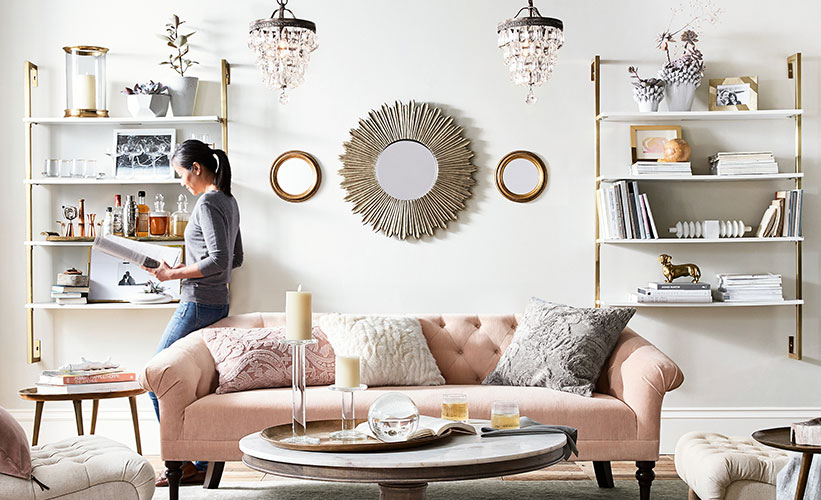 5 Ways To Incorporate Gold Decor In Your Home Pottery Barn