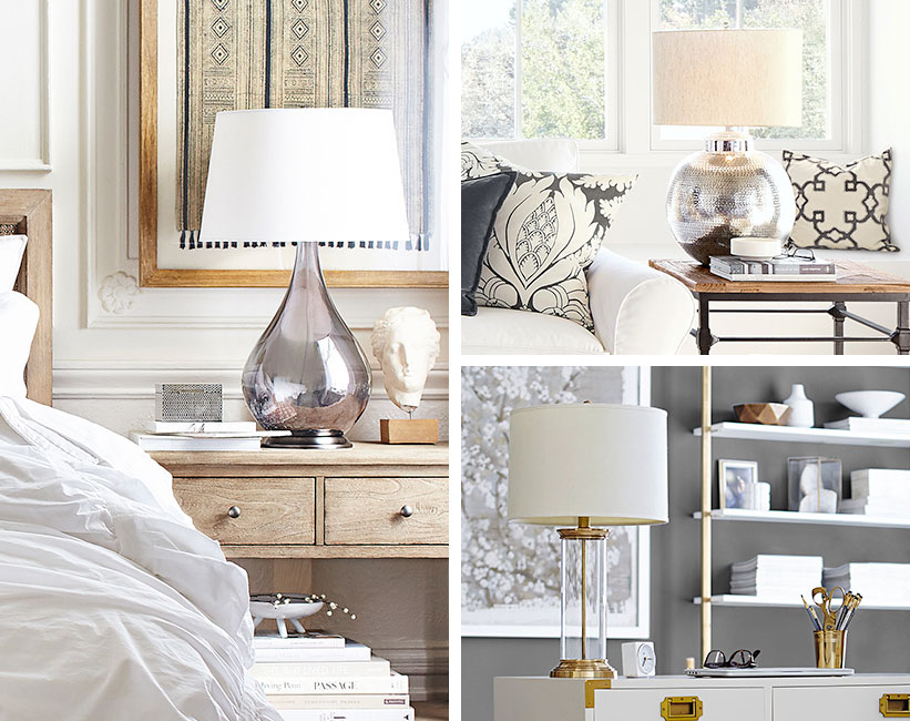 How To Pair Lamp Table Pottery Barn