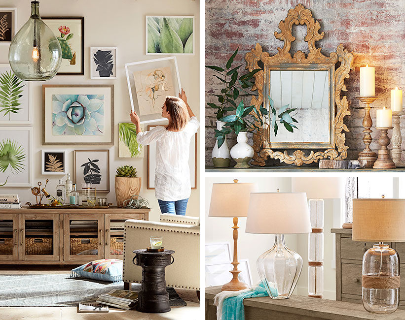 How To Choose The Right Art And Decor For Your Living Room Pottery Barn