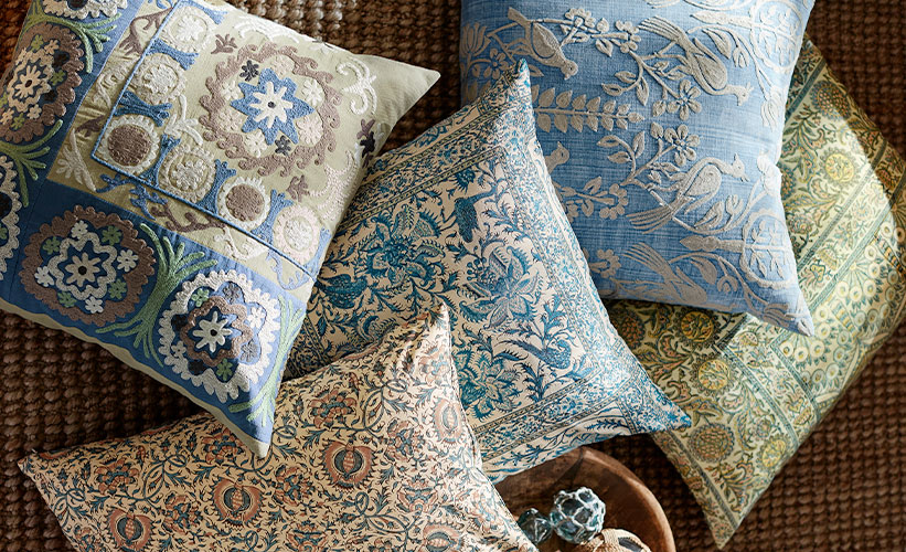 How to Spot Clean Decorative Throw Pillows  Pottery Barn