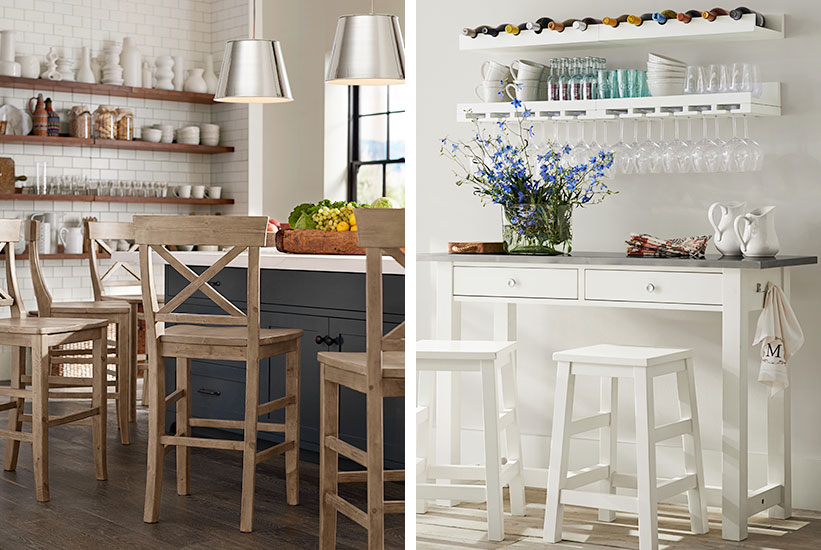 7 Tips To Decorate A Small Kitchen Pottery Barn