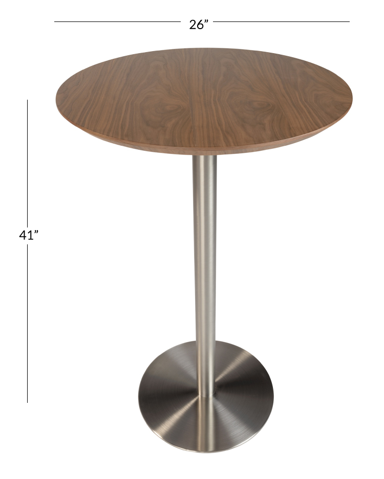 Clyde Round Bar Height Table Pottery Barn
