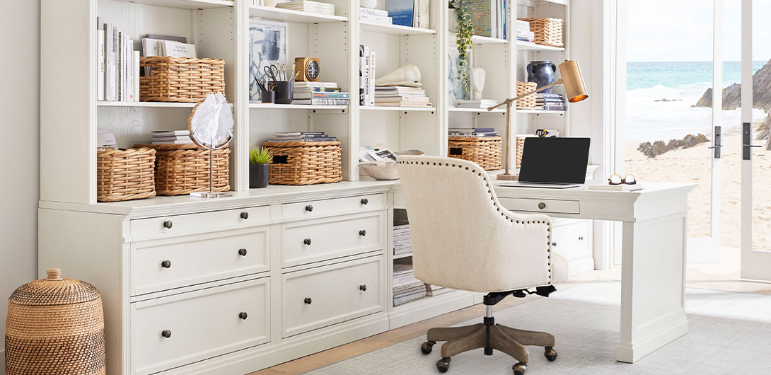 Home Office Collections Pottery Barn, Pottery Barn Office Furniture