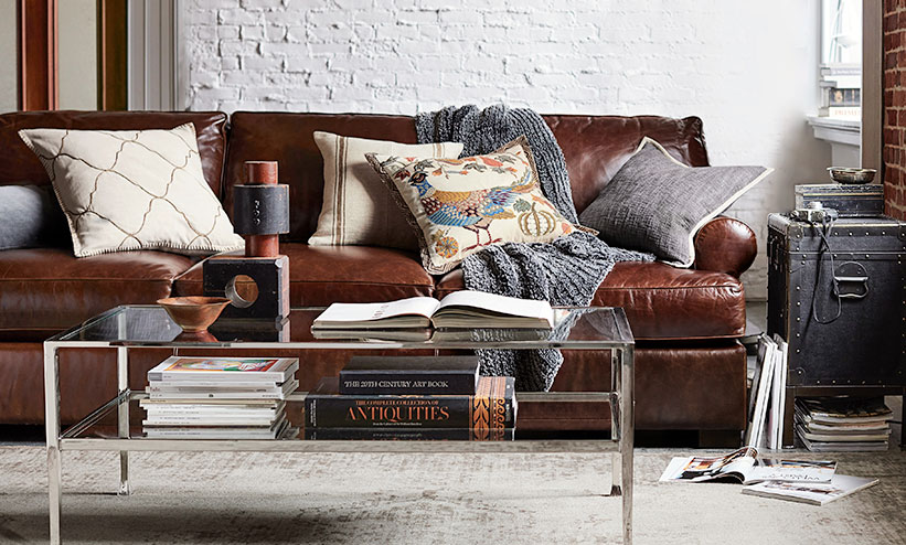 How To Clean Leather Furniture, What Kind Of Throw Cushions For A Leather Sofa