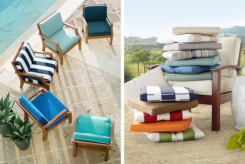 Diy How To Make Outdoor Cushions, How To Make Pillows For Outdoor Furniture