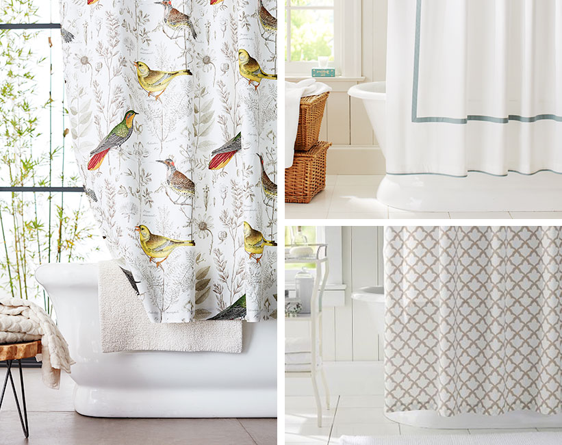 How To Choose The Right Shower Curtain For Your Shower Pottery Barn