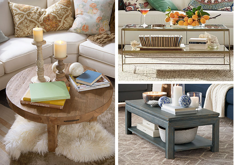 7 Super Easy Coffee Table Makeover Ideas Pottery Barn