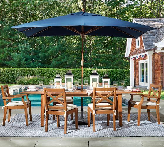 Hampstead Teak Extending Dining Table