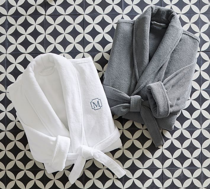 Organic Spa Robe Pottery Barn