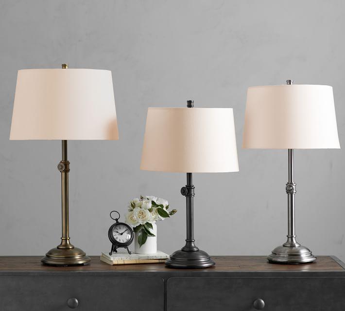 Chelsea Metal Adjustable Table Lamp