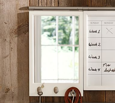 Daily Organization System Magnetic Whiteboard Calendar