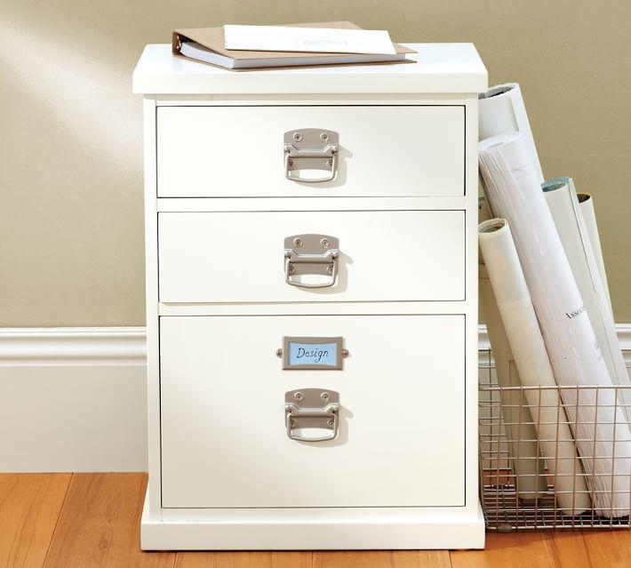Bedford 3 Drawer Filing Cabinet