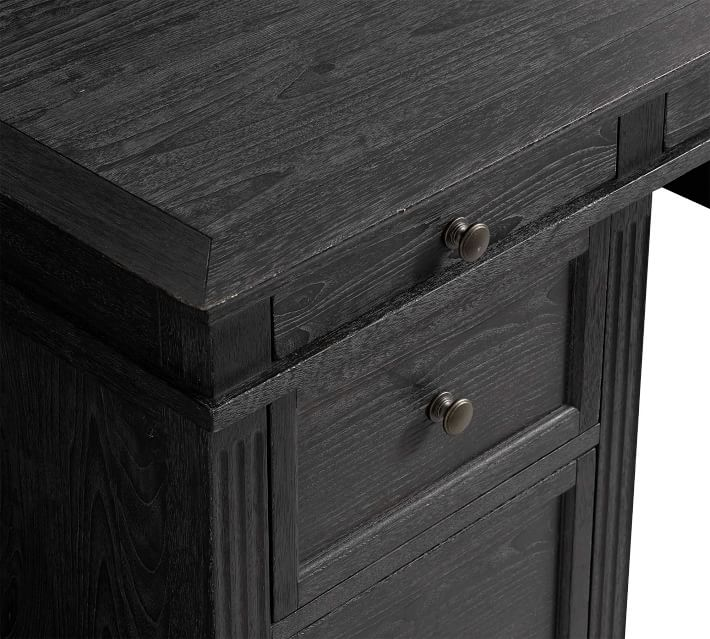 Livingston 75 Quot Executive Desk With Drawers Pottery Barn