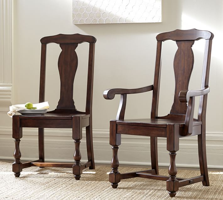 Windsor Dining Chair | Pottery Barn CA |Delaney Dining Chair Pottery Barn