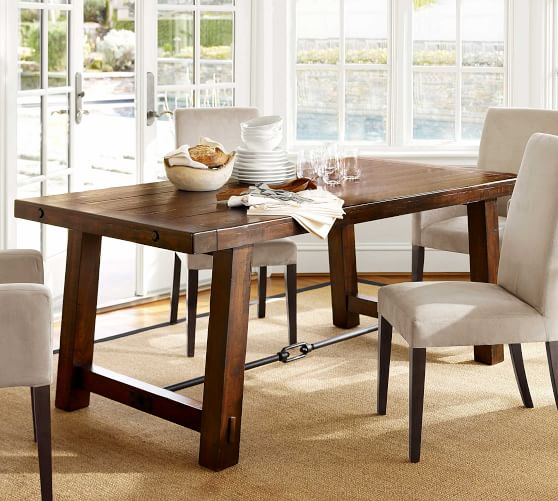 Benchwright Dining Table Rustic