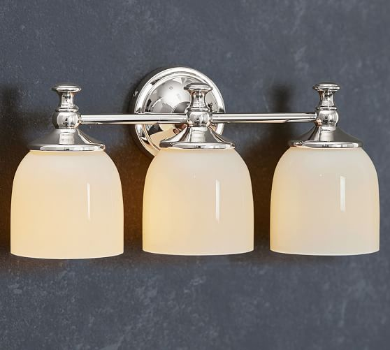 Mercer Triple Sconce Pottery Barn