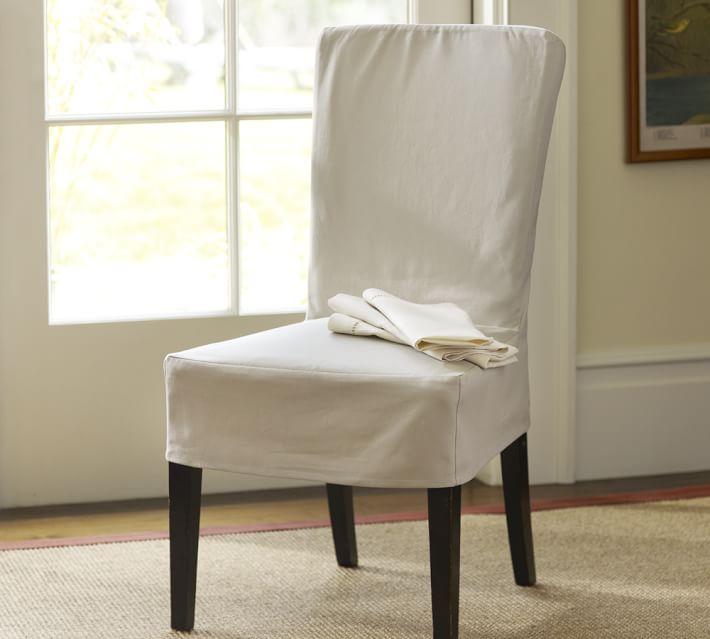 Megan Chair Slipcovers Pottery Barn