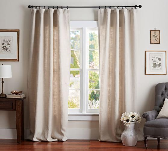 Belgian Linen Blackout Curtain